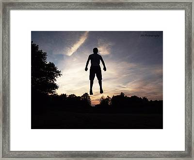 No Limits Framed Print by Jay Harrison