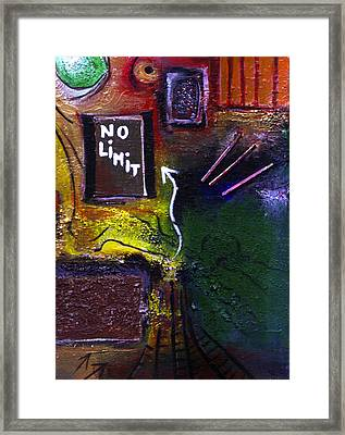 No Limits Framed Print by Mirko Gallery