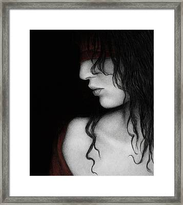 No Looking Back Framed Print by Pat Erickson
