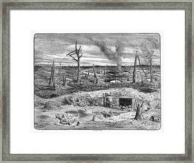 No Man's Land Framed Print by Library Of Congress