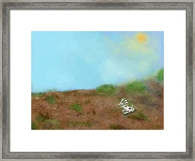 No Man's Land Framed Print by Renee Michelle Wenker