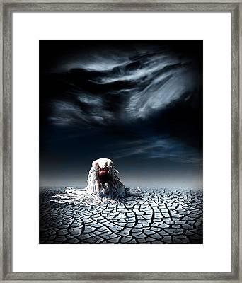No More Framed Print by Jacky Gerritsen