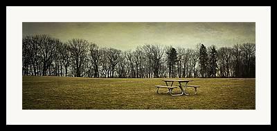 Open Place Framed Prints