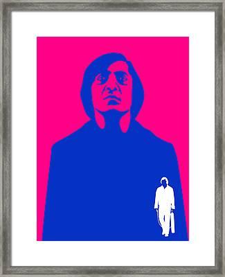 No Old Man Poster 4 Framed Print