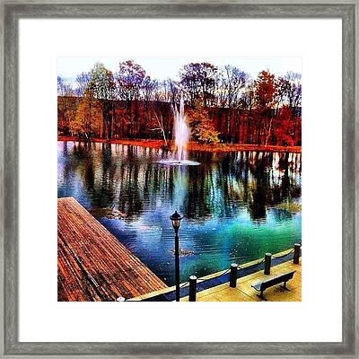 No One And Nothing Is Perfect Framed Print