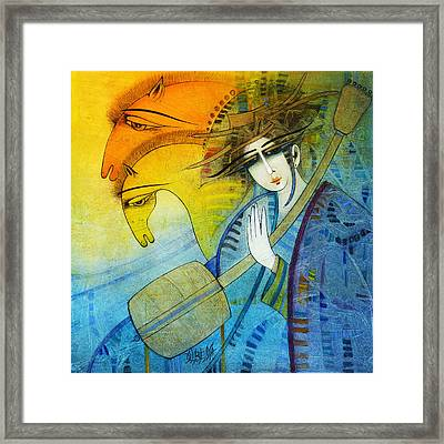 No One Can Stop My Dream Horses... Framed Print
