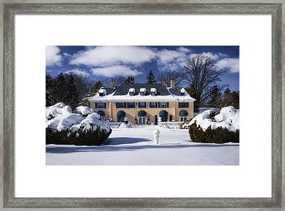 No One Home Framed Print by Joan Carroll
