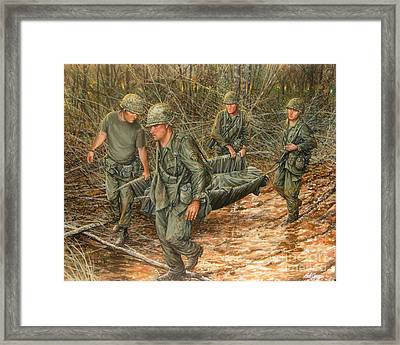 No One Left Behind Framed Print