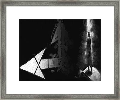 No One There Framed Print