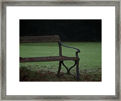 No One To Hear Framed Print by Odd Jeppesen