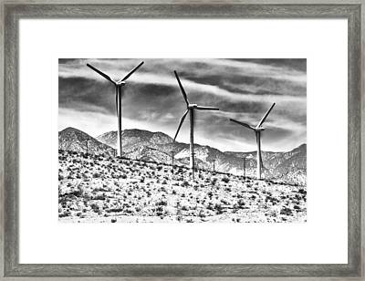 No Place Like Home 3 Desert Hot Springs Framed Print
