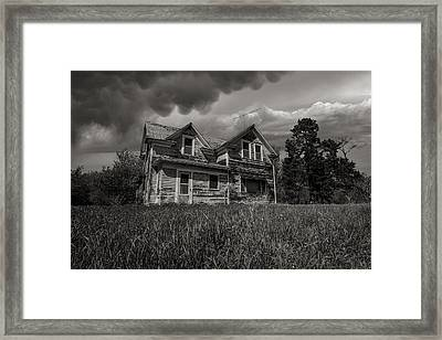 No Place Like Home Framed Print by Aaron J Groen