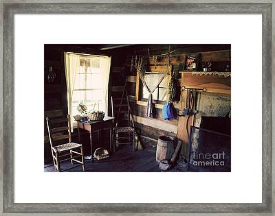 No Place Like Home Framed Print by Lena Auxier