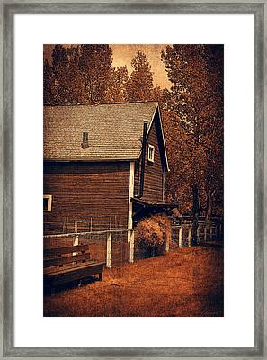 No Place Like Home  Framed Print by Maria Angelica Maira