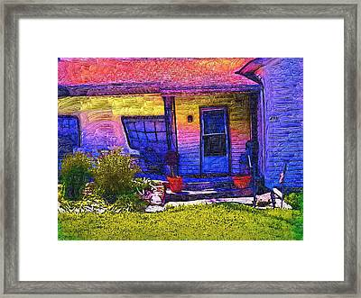 No Place Like Home Framed Print by Tyler Robbins