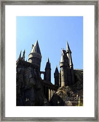 No Place Safer Than Hogwarts Framed Print