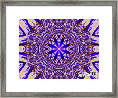 No Place To Run Framed Print by Bobby Hammerstone