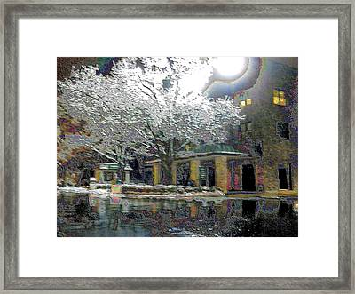 No Races Tonight Framed Print by Christopher Hignite