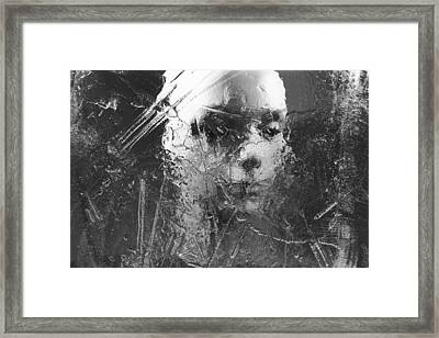 No Regrets Framed Print