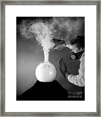 No Smoking Framed Print by Martin Konopacki
