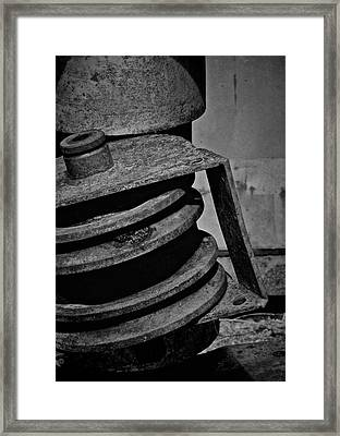 No Spin Framed Print by Odd Jeppesen
