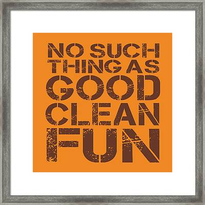 No Such Thing Framed Print by Jim Baldwin