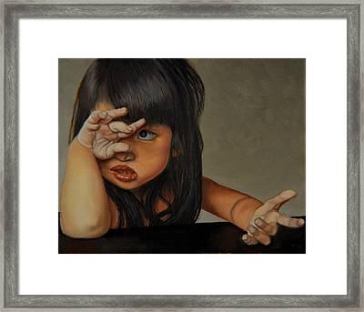 No Framed Print by Thu Nguyen