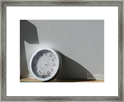 Framed Print featuring the photograph No Time by Lyric Lucas