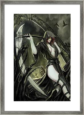 No Tomorrow 01b Framed Print by Zenescope Entertainment