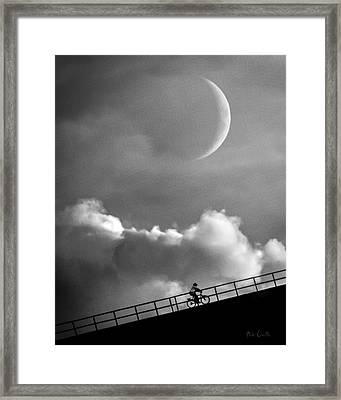 No Turning Back Framed Print