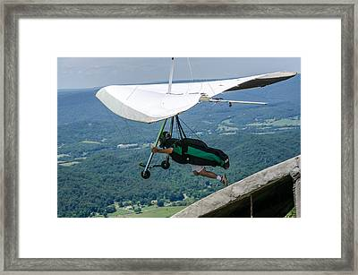 Framed Print featuring the photograph No Turning Back by Susan  McMenamin