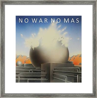No War No More Framed Print