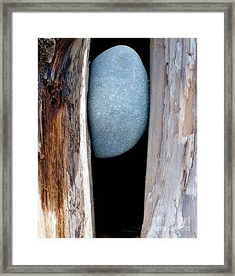 Framed Print featuring the photograph No Way Out by Newel Hunter