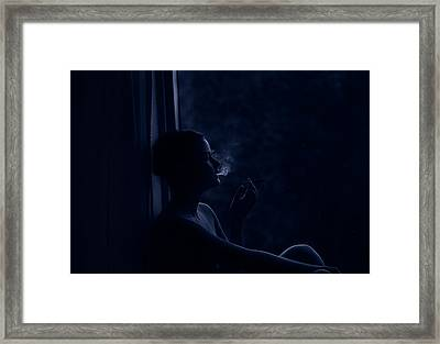 No Where Framed Print
