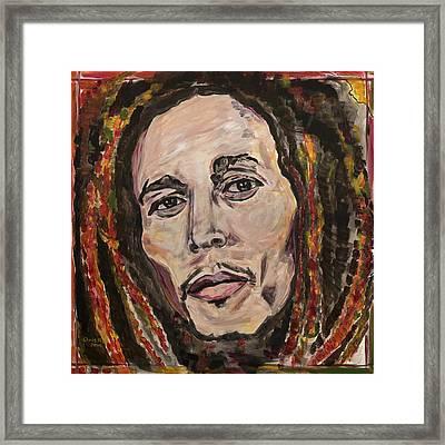 No Woman No Cry Framed Print