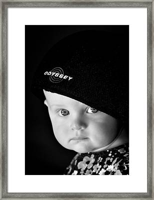 No Words Framed Print