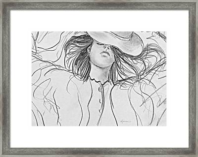 No Worries Framed Print by Kume Bryant