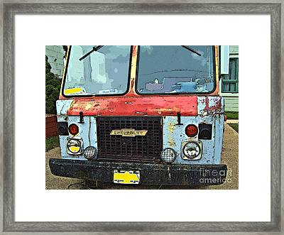 No Worry - No Hurry Framed Print by MJ Olsen
