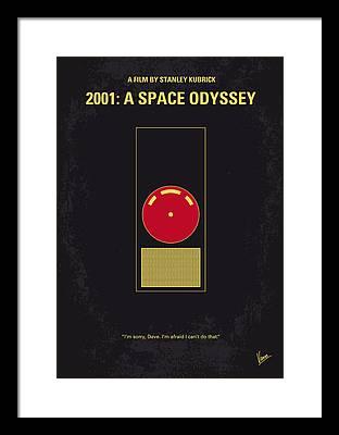 Space Digital Art Framed Prints