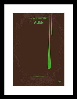 Aliens Framed Prints