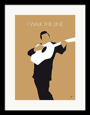 Walk The Line Framed Prints