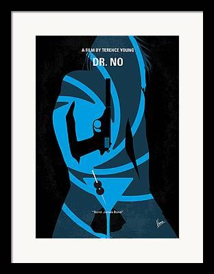 Dr. No Framed Prints