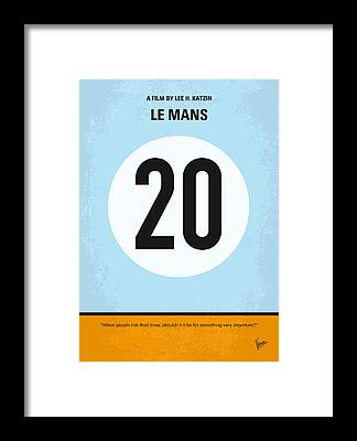 Le Mans 24 Framed Prints