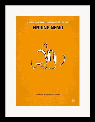 Clown Fish Framed Prints
