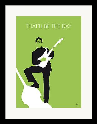 Beatles Digital Art Framed Prints