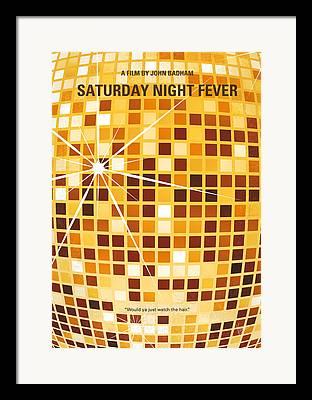 Saturday Night Framed Prints