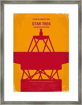 No081 My Star Trek 1 Minimal Movie Poster Framed Print by Chungkong Art