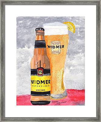 No.1 In Series Of Barbecue And Kitchen Art Framed Print by Connie Valasco