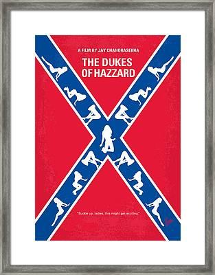 No108 My The Dukes Of Hazzard Movie Poster Framed Print by Chungkong Art