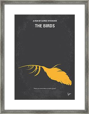No110 My Birds Movie Poster Framed Print by Chungkong Art